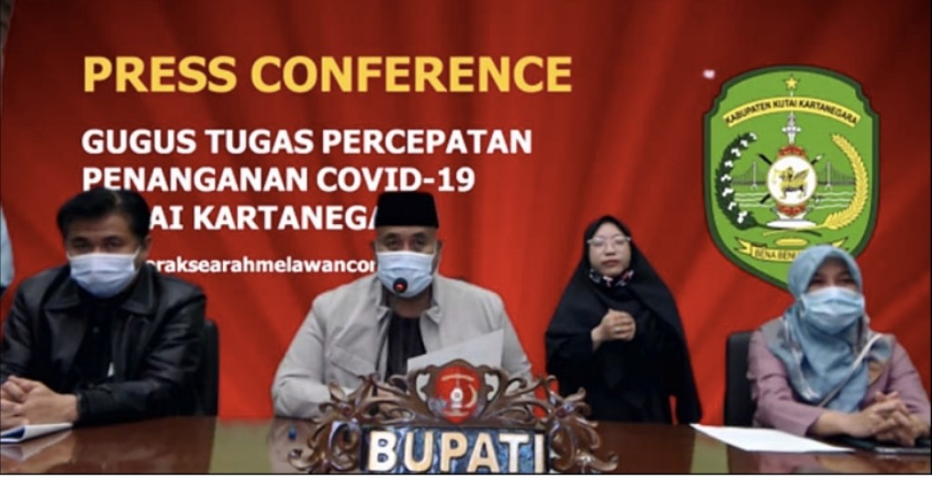 Press Release Bupati Kutai Kartanegara