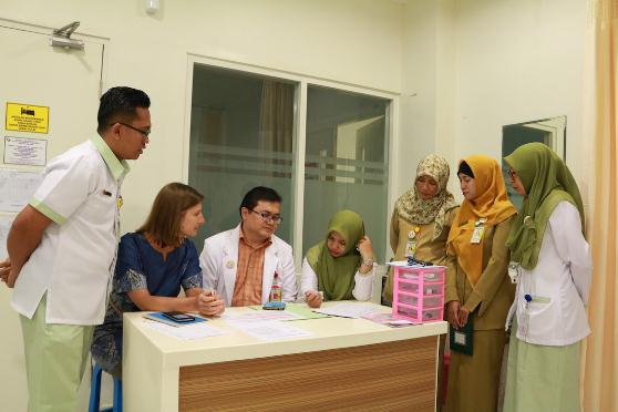 RSUD A.M Parikesit Launching Hot Line Emergency Maternal